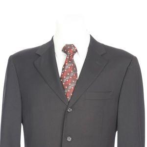 Canali Suits & Blazers - Canali Full Canvas Black Italian Wool Sport Coat